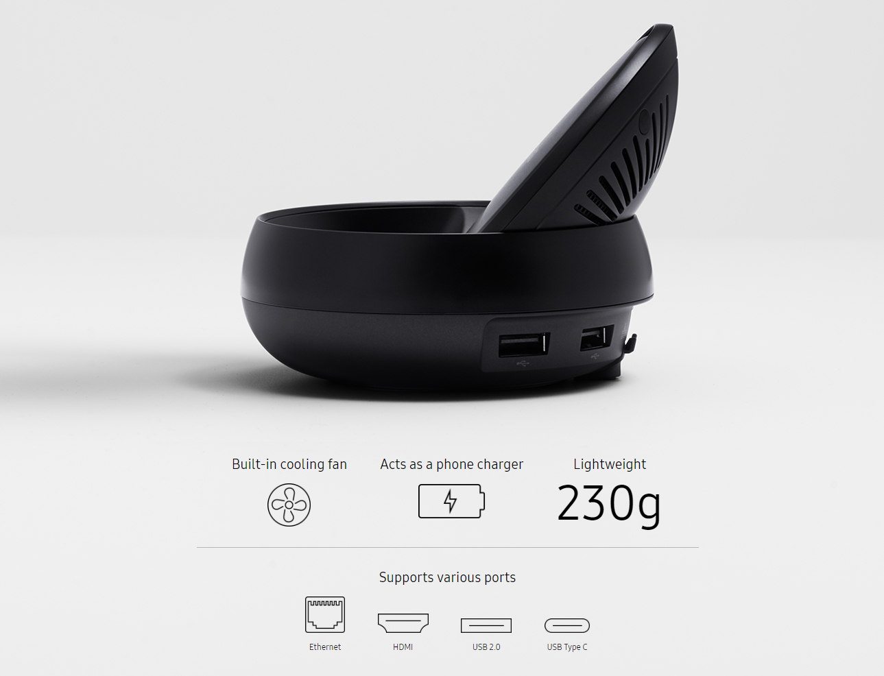 Samsung DeX Station EE MG950 | Dustin.no